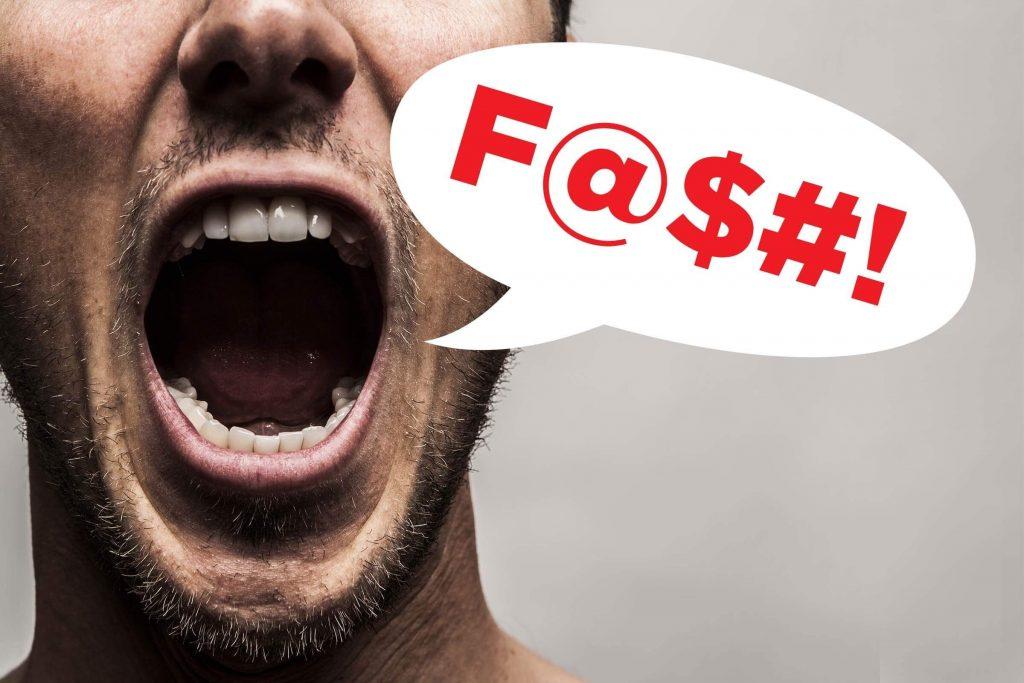 Chửi thề tiếng Anh là gì